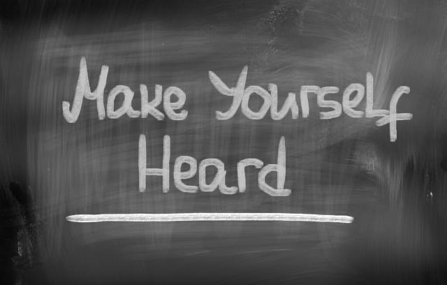 Make Yourself Heard Concept